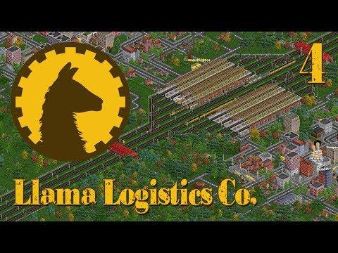 Llama Logistics Co. - Episode 4 (OpenTTD)