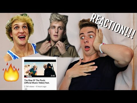 REACTING TO THE RISE OF THE PAULS feat. Jake Paul #TheSecondVerse | Bruhitszach