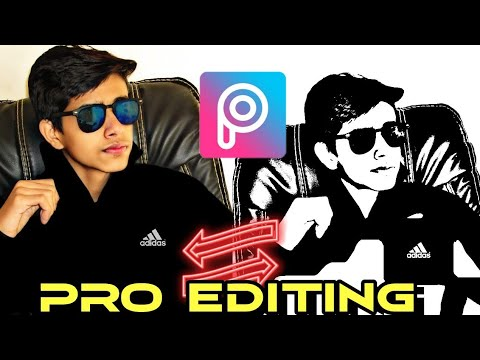 Pro Editing in Pics Art | Sketch Tutorial | Photo editing | Feature4 | Liljay aka Sanjay Choudhary thumbnail