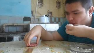 Сырое яйцо с колбасой (провал)