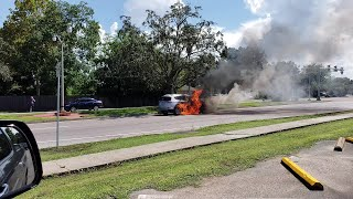 Kenner Car Fire