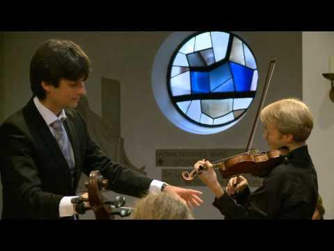 Christoph Koncz spielt Beethoven Violinkonzert in D-Dur Op. 61
