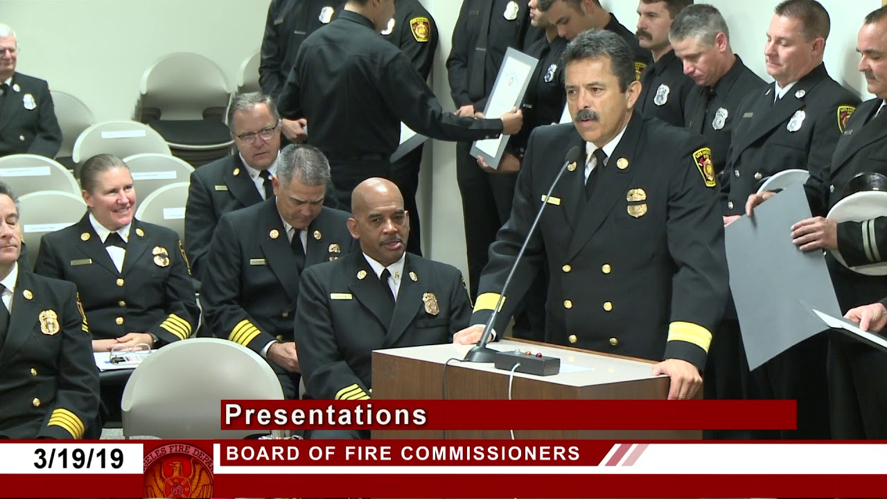 LAFD Fire Commission Meeting 3 19 19 - YouTube