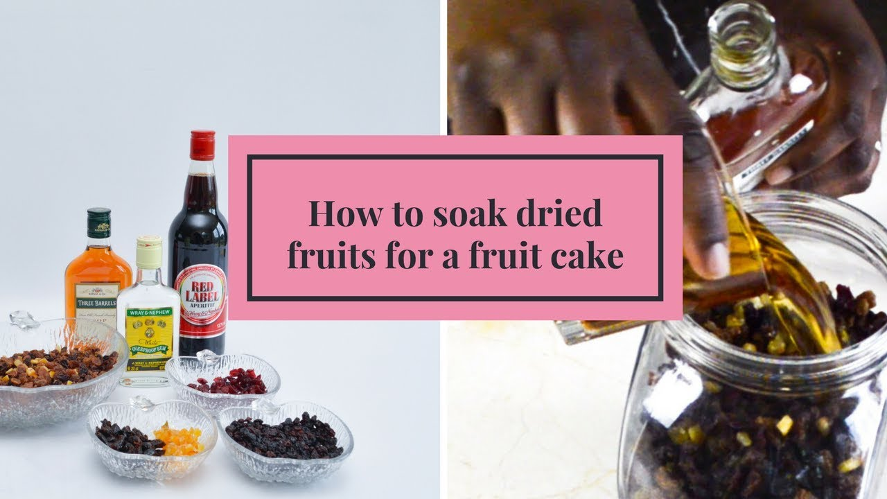 What To Soak Fruit In For Christmas Cake