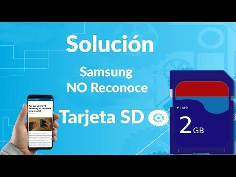 ¿Por qué Mi Móvil Samsung NO Reconoce la Tarjeta SD?