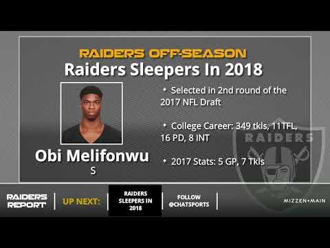 5 Oakland Raiders Sleepers To Keep An Eye On In 2018