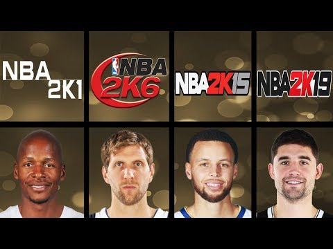 Every 3 Point Contest Winners Overall Rating In NBA 2K Games (NBA 2K - NBA 2K19)