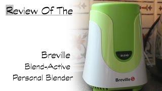 Breville Miscela Active Personal Blender /& Smoothie Maker con 2 miscelazione portatile