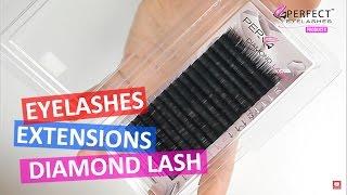 Diamond Silk Lash - Individual Eyelash Extensions  - Perfect Eyelashes Products