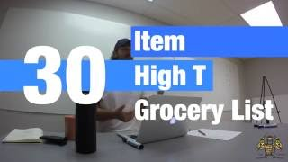 30 Foods for High Testosterone (Grocery List)