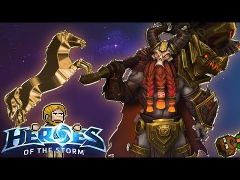 RedRazorWolf Plays - Heroes of the Storm - Leoric - Quick Match - with General Cacti