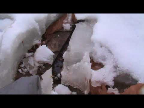 HOW TO MELT ICE ON GUTTERS