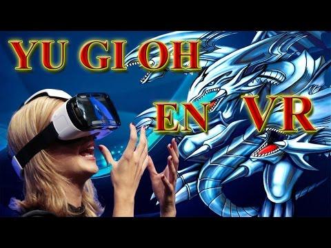 juego de ¿YU GI OH en VR?, REALIDAD VIRTUAL