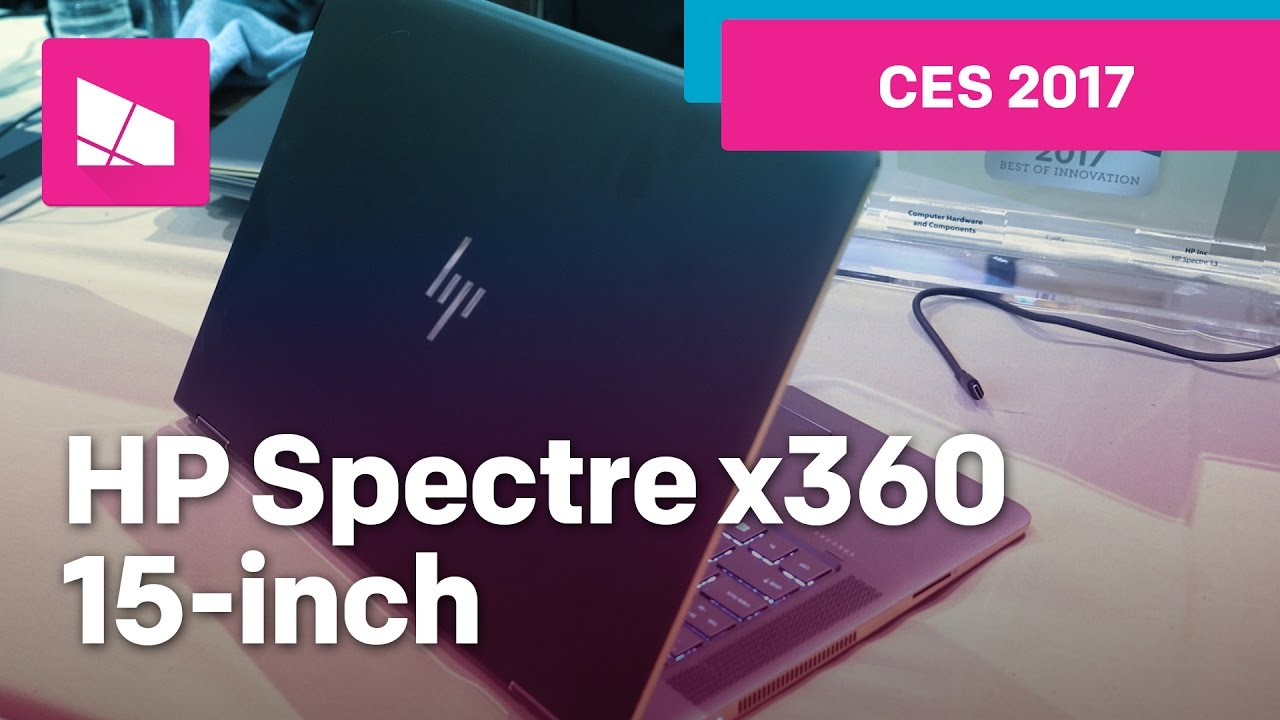 98ab04c7bcf2 HP Spectre x360 15-inch (2017