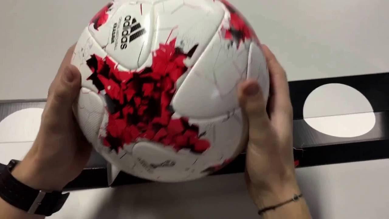 espiral Cerdo visa  Adidas krasava official ball AZ3183 - YouTube