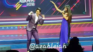 MayWard sings Mahal Kita Kasi at the MYX Music Awards 2018 SQUADFEST
