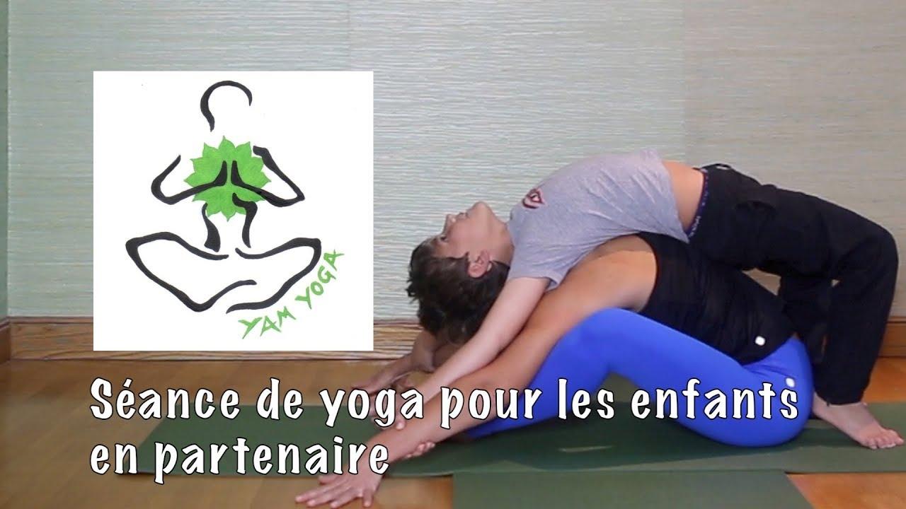 Pratique 31 - Une séance de yoga pour les enfants… en partenaire - 2ème  séance. Emmanuelle YamYoga 87847d823ee