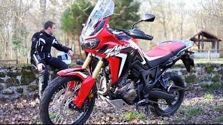 Essai Honda Africa Twin CRF 1000 L