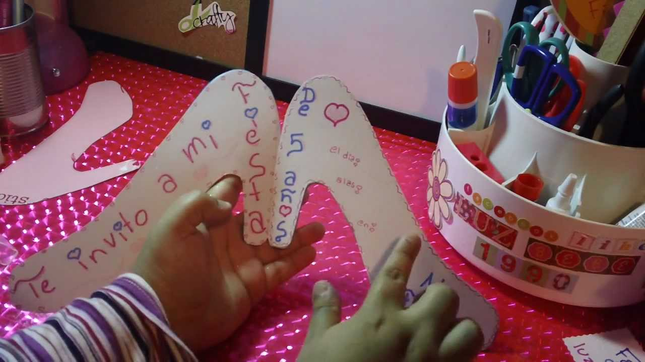 Nvitacion De Cenicienta Zapatilla Para Fiesta Infantil