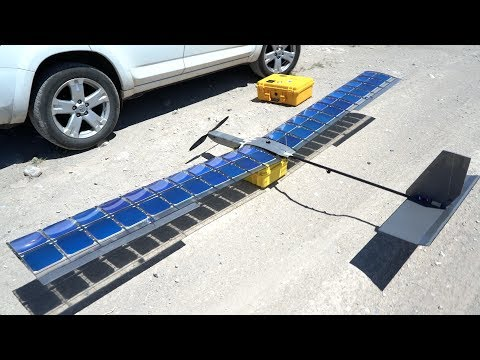 SOLAR FPV Plane V3 Crash and Testing - RCTESTFLIGHT