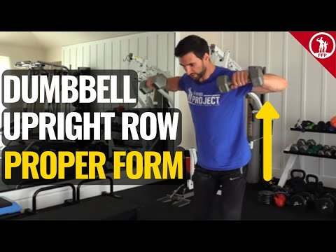 The Upright Row How To Do It Properly & Avoid Injury