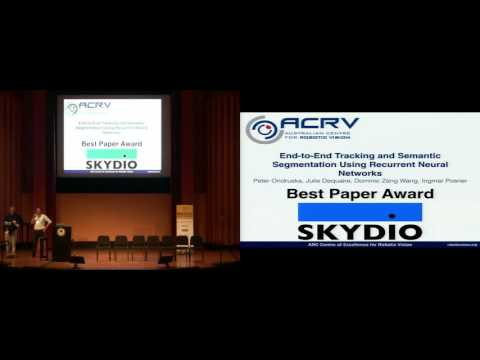 """Best Paper Award [""""Limits and Potentials of DeepLearning in Robotics"""", RSS Workshop]"""