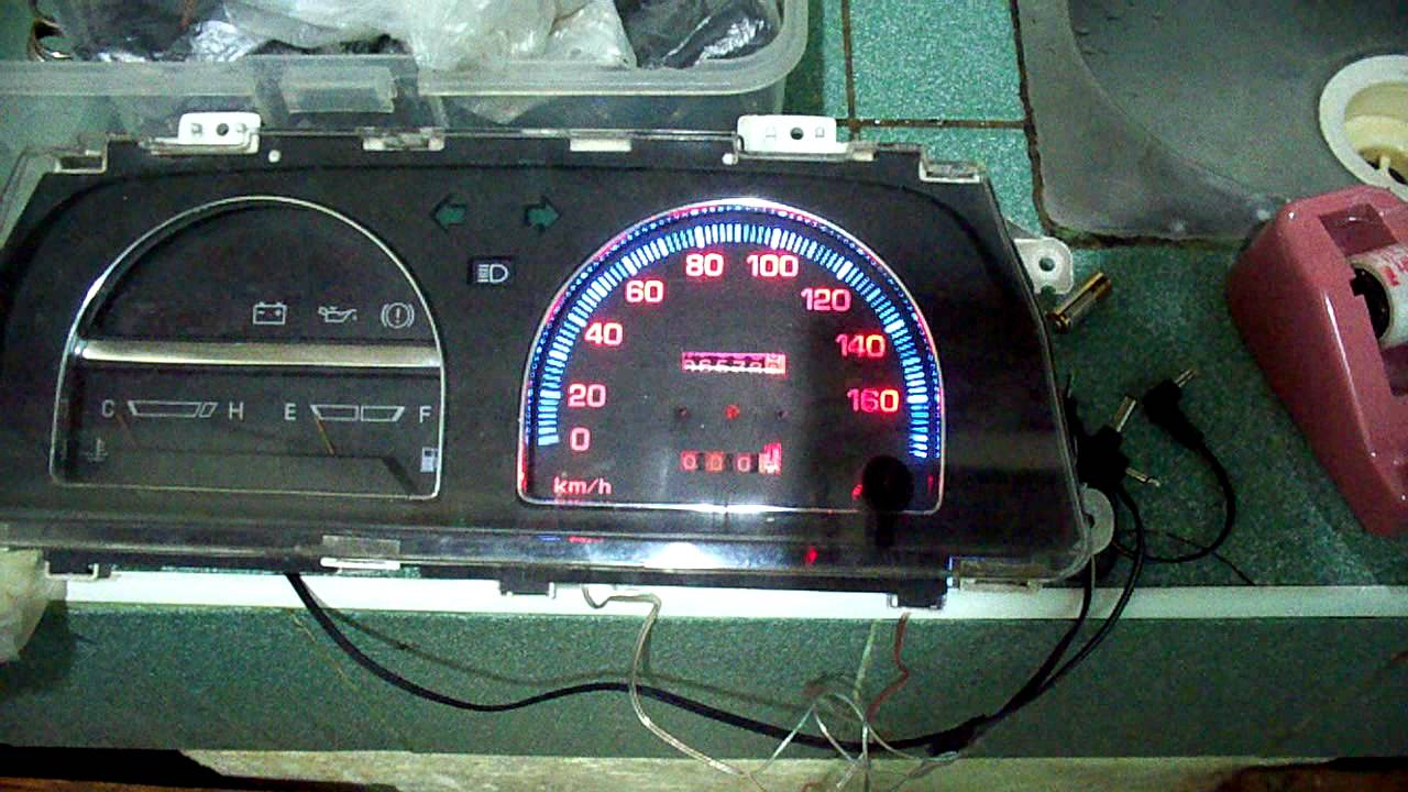 Daihatsu Applause Fuse Box Electrical Wiring Diagrams 1991 Charade Instrument Panel Gauge Youtube Sirion Gtvi
