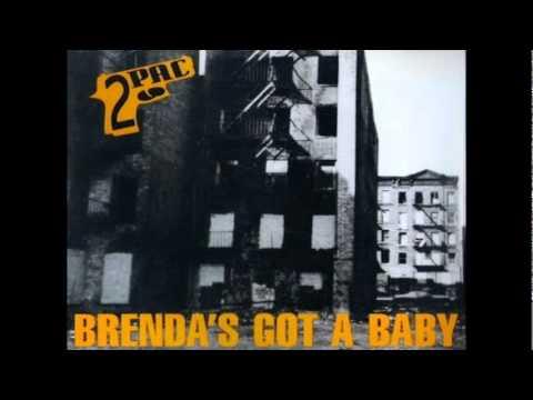 2Pac - Brenda's got a Baby (Radio Mix)