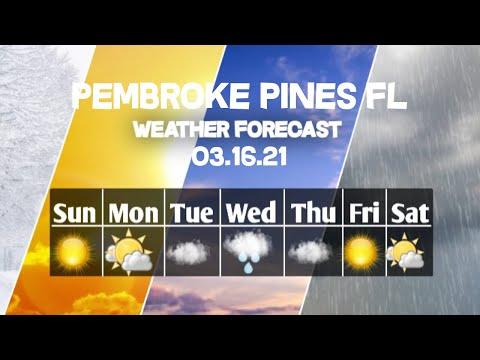 Weather Forecast Pembroke Pines, Florida ▶ Pembroke Pines weather Forecast 03/16/2021