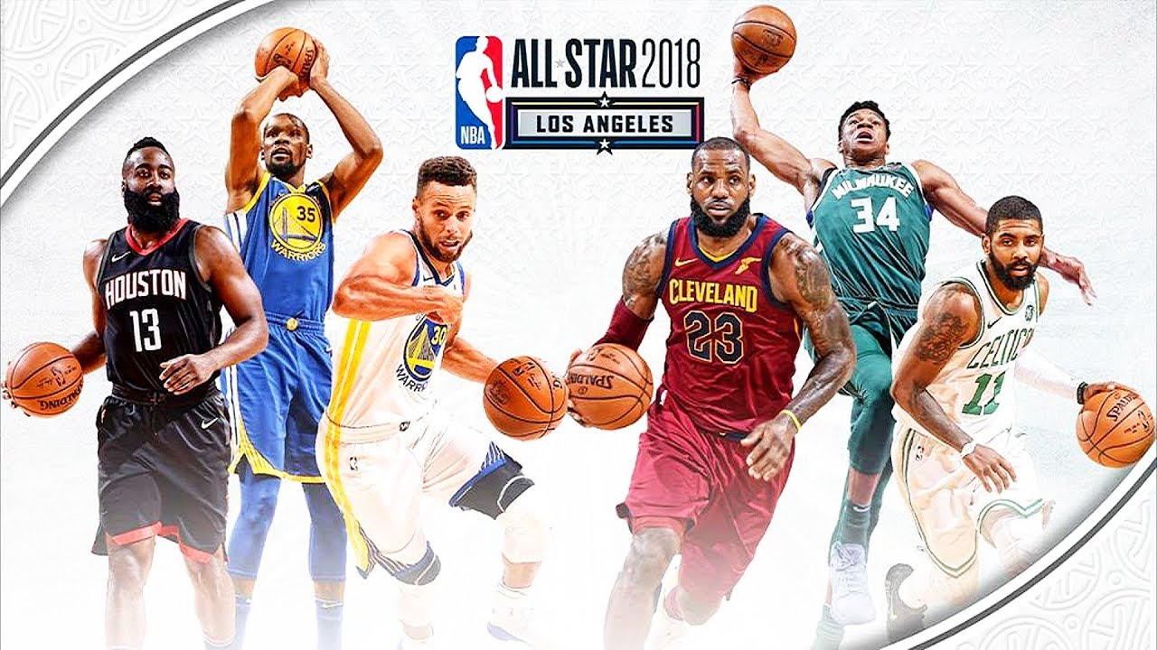 LeBron James and Stephen Curry are 2018 NBA All-Star Game Captains! NBA All-Star Game 2018 - YouTube