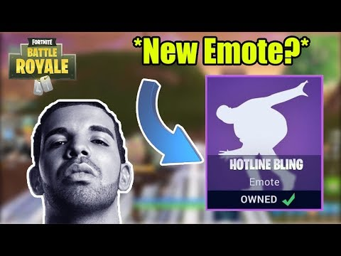 HOTLINE BLING CONFIRMED NEW EMOTE IN FORTNITE? Fortnite Twitch Highlights!