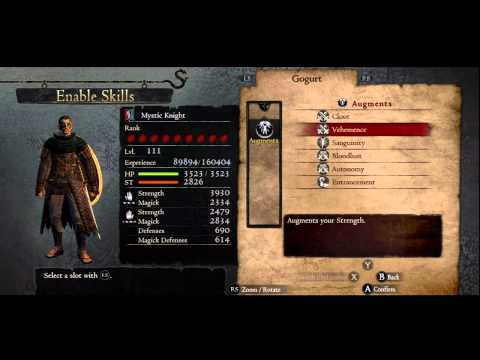 dragon dogma mystic knight build