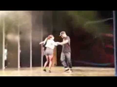 Jeff and Sabina New Style Hustle Performance in Czech Republic