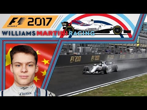 F1 2017 - Career Mode - Part 2 - China - Soggy Shanghai