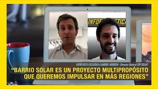Barrio Solar de Zaragoza - Entrevista a EDP Solar