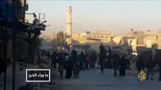 جيش النظام يستثمر حملة القصف الجوي بشرق حلب