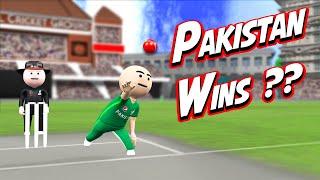 3D ANIM COMEDY - CRICKET  INDIA VS PAKISTAN  LAST OVER  PART 2
