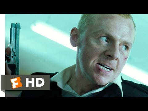 Hot Fuzz (9/10) Movie CLIP - Here Come The Fuzz (2007) HD
