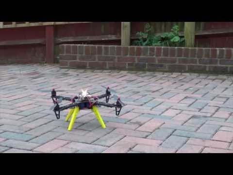 Arduino Quadcopter - Phase 5 (Take off practice after Simonk)