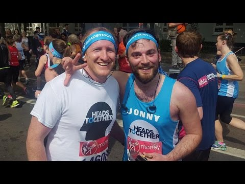 9 Years After Suicide Attempt This Man Ran Marathon With Stranger Who Saved Him