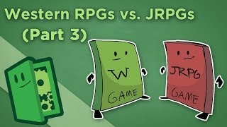 Western & Japanese RPGs - III: Why Are Western RPGs More Popular? - Extra Credits