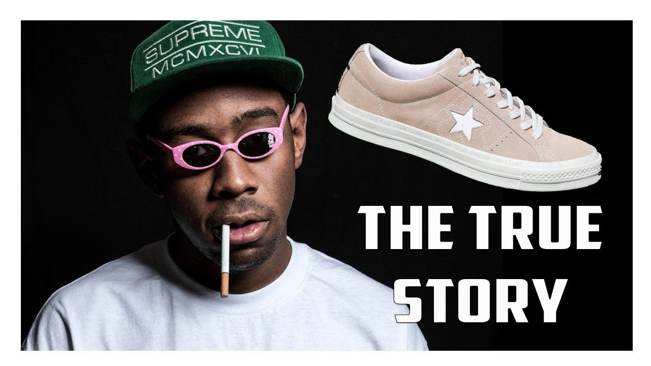61061b73069df3 The TRUE Story Why Converse Signed Tyler The Creator - YouTube