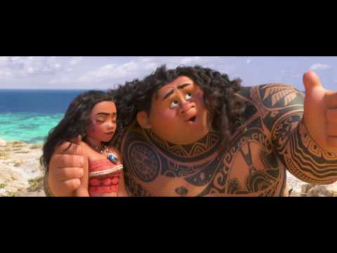 MOANA | Dwayne 'The Rock' Johnson as Maui – 'You're Welcome' | Official Disney UK