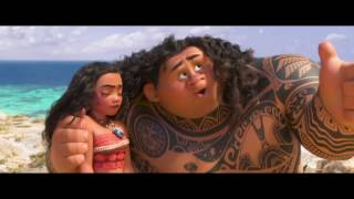 Moana – Dwayne 'the Rock' Johnson As Maui  'you're Welcome' – Official Disney  Hd