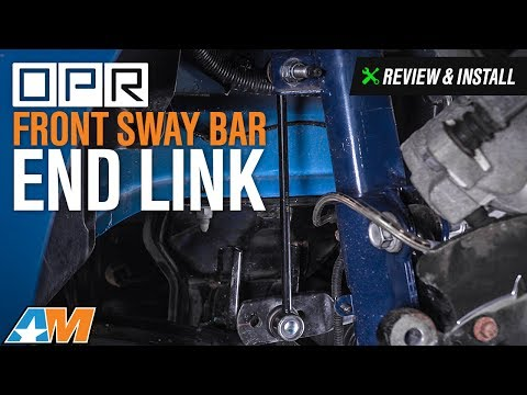 2005-2014 Mustang OPR Front Sway Bar End Link Review & Install