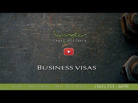 Immigration Law: Business Visas | Harrington Legal Alliance | West Palm Beach, FL