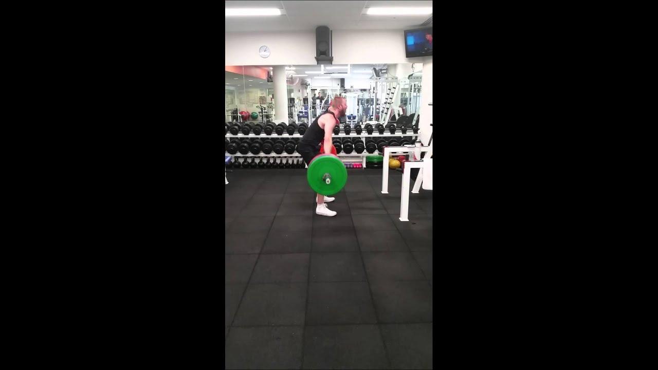 25dd10837fcc 130kg Snatch Grip Deadlift - YouTube