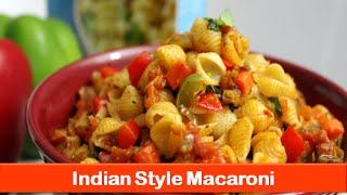 Macaroni Pasta Recipe|simple Easy Indian Style Vegetarian Recipes|dinner Lunch Idea-let's Be Foodie