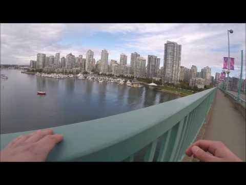 Cambie St. Bridge jump (Cambie hop)