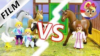 Playmobil video Nederlands | IRRITATIE op de manege?! Hannah Vogel vs. Tessa Snob | Kinderserie